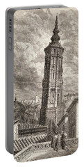 La Torre Nueva Or Inclinada In Portable Battery Charger