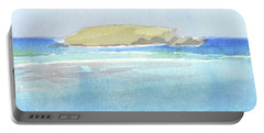 La Tortue, St Barthelemy, 1996_0046 60x35 Cm Portable Battery Charger