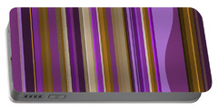 Large Purple Abstract - Two Portable Battery Charger