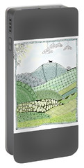 Labrador Mountain Doggie Doodle Portable Battery Charger