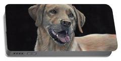 Labrador Portrait Portable Battery Charger