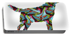 Labrador Retriever Spirit Glass Portable Battery Charger