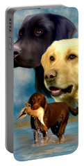 Labrador Retrievers Portable Battery Charger