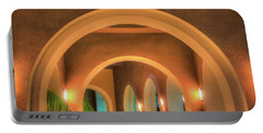 Portable Battery Charger featuring the photograph Labyrinthian Arches by T Brian Jones