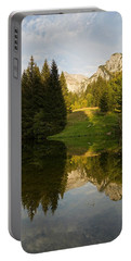Lac De Fontaine Reflections Portable Battery Charger