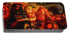 Laconia Pumpkin Festival Graphic Design 2 Portable Battery Charger