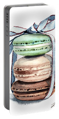 Laduree Macaron Stack Tied With A Bow Portable Battery Charger