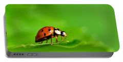 Lady Bug Portable Battery Charger