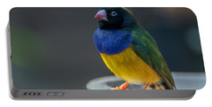 Lady Gouldian Finch Portable Battery Charger