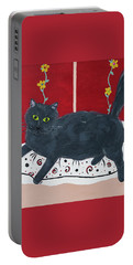 Lady Kitty Portable Battery Charger