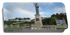 Lady Liberty On Mackinac Island Portable Battery Charger
