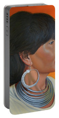 Lady Of Sapa Portable Battery Charger