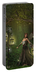 Lady Of The Lanterns Portable Battery Charger