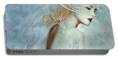 Lady Of The White Feathers Portable Battery Charger