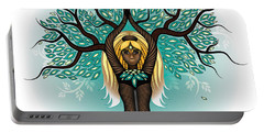 Lady Shaman Tree Portable Battery Charger