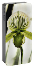 Portable Battery Charger featuring the photograph Lady Slipper by Jessica Manelis