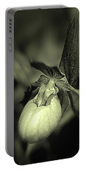 Lady Slipper Orchid Flower Portable Battery Charger