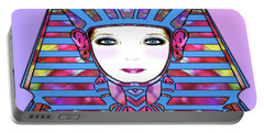 Portable Battery Charger featuring the photograph Lady Tut #191 by Barbara Tristan