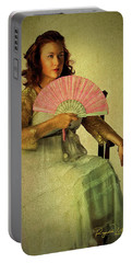 Lady With A Fan Portable Battery Charger