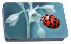 Portable Battery Charger featuring the photograph Ladybug by Mark Fuller