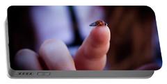 Ladybug On  Finger  Portable Battery Charger