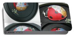 Ladybug On The Half Shell Portable Battery Charger