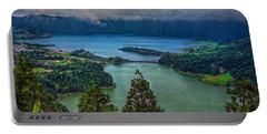 Lagoa Verde E Lagoa Azul Portable Battery Charger