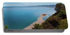 Lagoon Of Tindari On The Isle Of Sicily  Portable Battery Charger