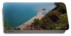 Lagoon Of Tindari On The Isle Of Sicily  Portable Battery Charger