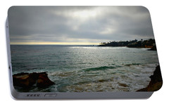 Portable Battery Charger featuring the photograph Laguna Beach Sunset by Glenn McCarthy Art and Photography
