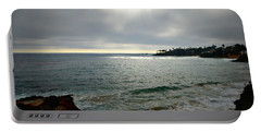 Laguna Beach Sunset Portable Battery Charger
