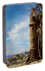 Portable Battery Charger featuring the photograph Laguna Beach Tower by Glenn McCarthy Art and Photography