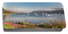 Gulf Of  Ullapool  - Photo Portable Battery Charger by Sergey Simanovsky