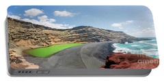 Laguna Verde Portable Battery Charger by Delphimages Photo Creations