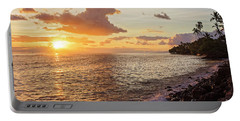 Lahaina Sunset Portable Battery Charger