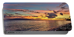 Lahaina Sunset Panorama Portable Battery Charger