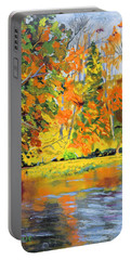 Lake Aerofloat Fall Foliage Portable Battery Charger