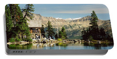 Lake Agnes Tea House Portable Battery Charger