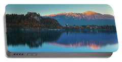 Lake Bled Panorama Portable Battery Charger