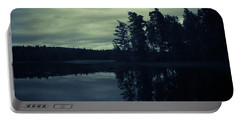 Lake By Night Portable Battery Charger