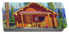 Lake Cabin Portable Battery Charger