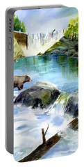 Lake Clementine Falls Bear Portable Battery Charger