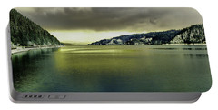 Portable Battery Charger featuring the photograph Lake Coeur D' Alene by Jeff Swan