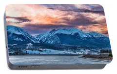 Portable Battery Charger featuring the photograph Lake Dillon by Sebastian Musial