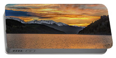 Lake Dillon Sunset Portable Battery Charger