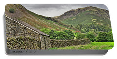 Lake District Fells Near Grasmere Portable Battery Charger