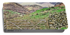 Lake District Mountains Portable Battery Charger