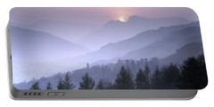 Lake District National Park. Langdale Valley, Winter Portable Battery Charger