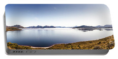 Lake Edgar Dam Southwest Tasmania Portable Battery Charger