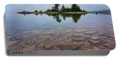Lake Huron Island Portable Battery Charger